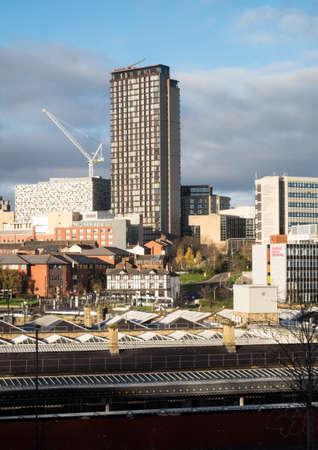 sheffield: Sheffield city centre Stock Photo