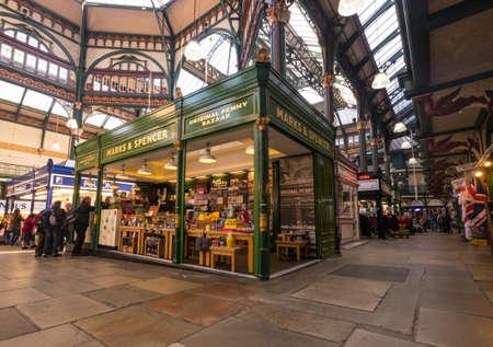 spencer: The original Marks and Spencer market stall