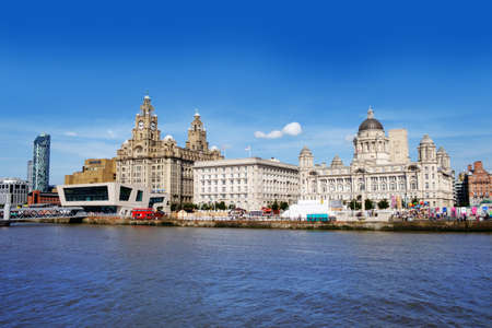 Liverpool waterfront Editorial