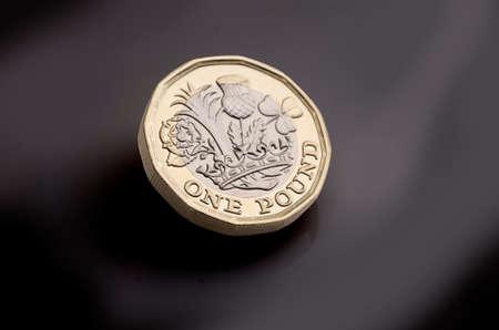 libra esterlina: Nueva moneda de una libra