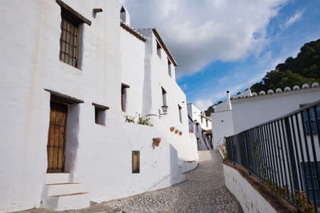 El Acebuchal, near Frigiliana, Spain. Known as the ghost village. Stok Fotoğraf