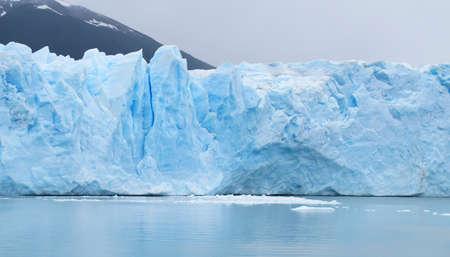 Perito Moreno glacier  Horiziontal  Ice detail  photo