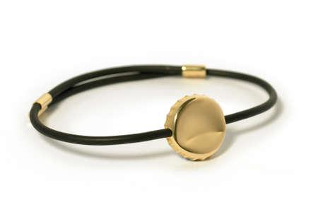 wristband: Wristband, armband isolated on white  Horizontal