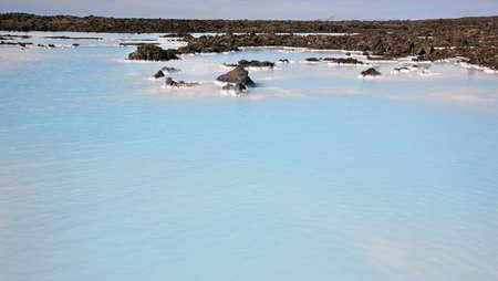 grindavik: Iceland landscape  Reykjanes Peninsula  Blue Lagoon  Geothermal Spa  Grindavik lava field