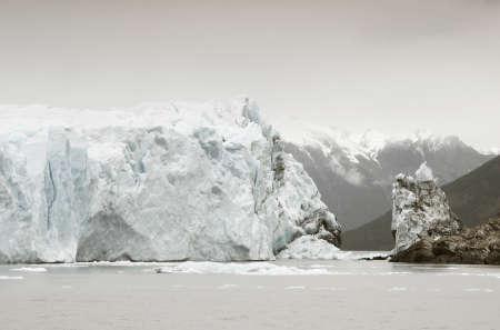 Perito Moreno glacier  Patagonian landscape  Argentina  Horizontal format photo