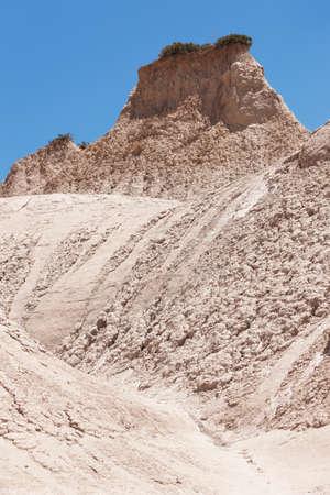 phenomenon: Komolithi geological phenomenon at Potamida in Crete. Greece.