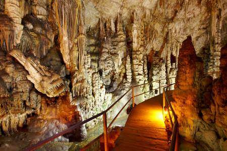 Dikteon cave. Place of Zeus birth. Crete. Greece. Horizontal