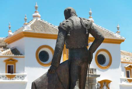 bull ring: La Maestranza bull ring in Seville. Andalucia. Spain. Horizontal