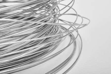 horizontal format: Black and white abstract metallic background. Defocused. Horizontal format Stock Photo