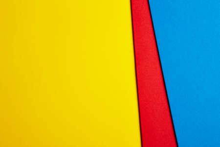 Immagini Stock Colored Cartoni Sfondo In Giallo Rosso Tonalità