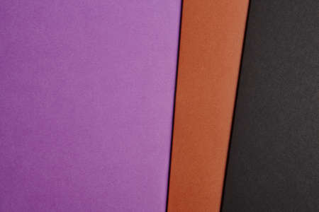 paperboard: Colored cardboards background in purple brown black tone. Copy space. Horizontal