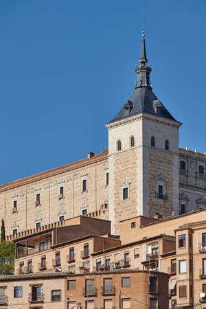 Toledo architecture. Spanish medieval historic place. Travel