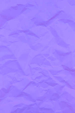 Textured crumpled purple paper background. Vertical Stock Photo
