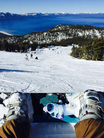 The view from the top of Heavenly Mountain, Lake Tahoe