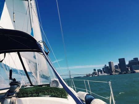 sf: Sailing the SF Bay