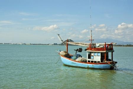 Fishing boat thai.Prachuap Khiri Khan Thailand. photo