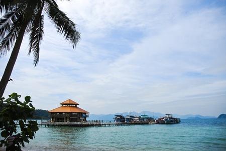 pier boat Koh Wai Trad