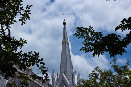 Catholic Church in Ratchaburi province Thailand  photo