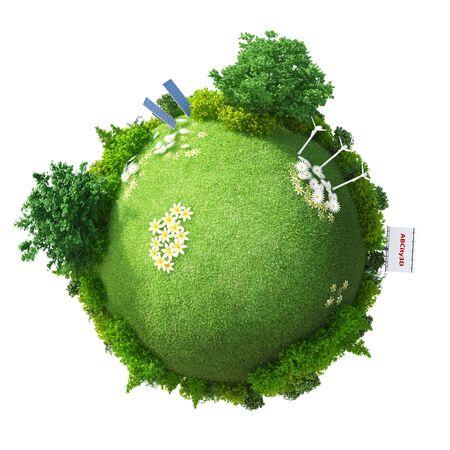 Green Planet Energy Фото со стока