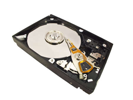 hard disk isolated on white background Stock Photo  Stock Photo - 12613528