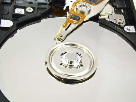 Computer hard disk  Stock Photo  photo