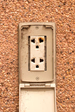 electrical failure in power outlet