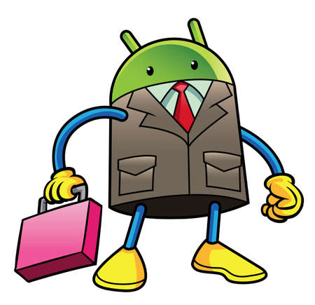 android businessman Illustration