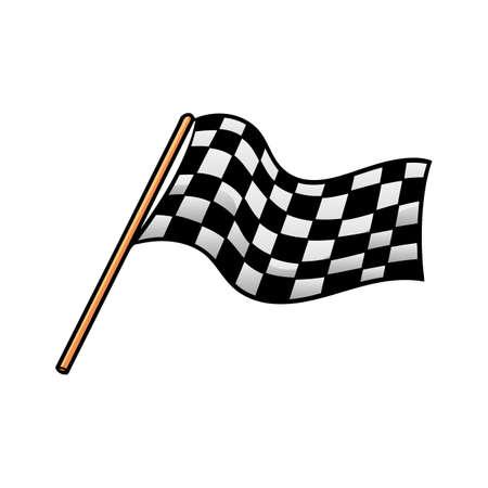 Rennen-flag  Standard-Bild - 71753438