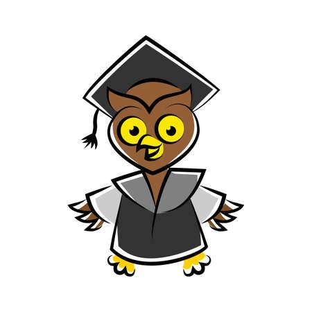 scholar: scholar owl character
