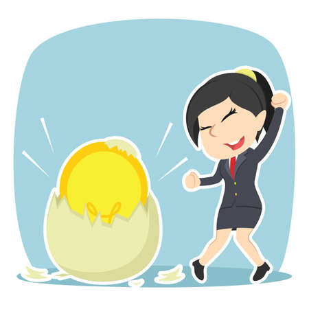 Businesswoman got her idea hatched from egg