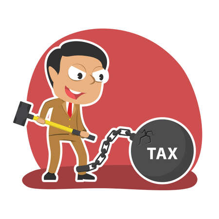 Indian businessman want to break cracked iron ball tax