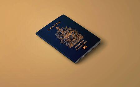 Official Passport of Canada, Canadian Passport 写真素材