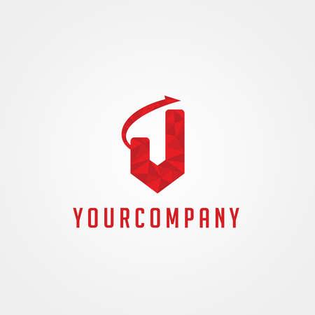company: J letter Company Logo