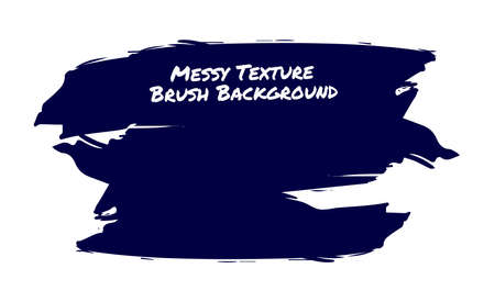 Messy texture brush background