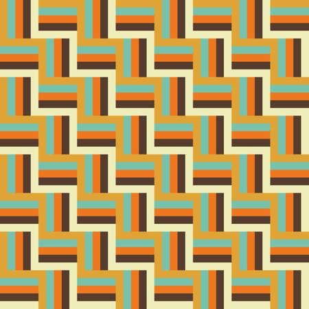 plait knit abstract vintage summer color tile seamless pattern