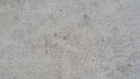 cracked texture concrete cement wall surface texture background in grey color