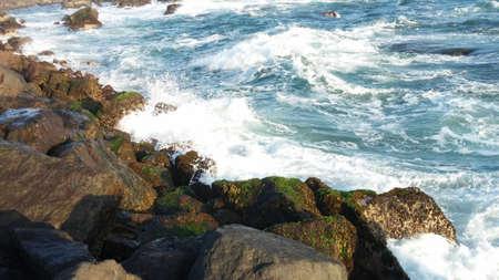 breakwater: rompeolas Foto de archivo