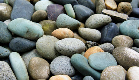 abstract background with round peeble stones Stock Photo - 15009320