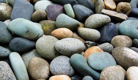 abstrakten Hintergrund mit runden Steinen peeble