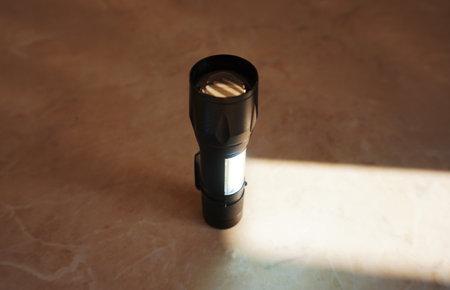 Black flashlight
