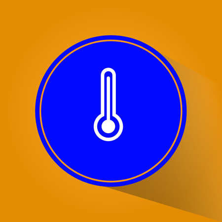 cloudless: Minimalistic Weather icons. Vector Illustration