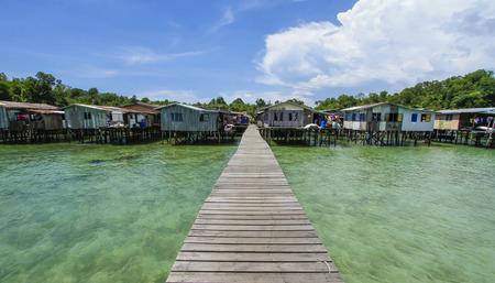 gaya: Gaya Island, Sabah, Malaysia.