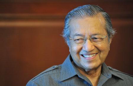 クアラルンプール、マレーシア - 2012 年 6 月 1 日: 元マレーシア首相マハティール トゥン博士