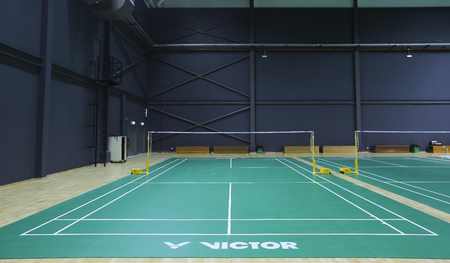 Badminton Court Stock Photos And Images 123rf