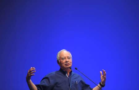 bn: KUALA LUMPUR, MALAYSIA - APRIL 16, 2012 : Malaysia Prime Minister, Najib Razak.