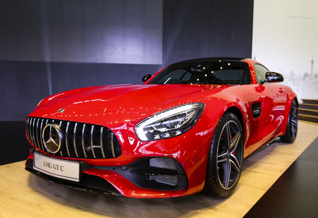 KUALA LUMPUR, MALAYSIA - AUGUST 24, 2018 : C190 Mercedes-AMG GT C. Dream Car Collection. Editorial