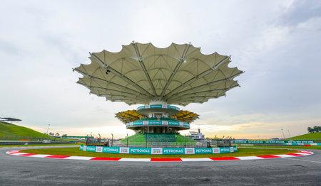 SEPANG, MALAYSIA -  SEPTEMBER 28, 2017 : Sepang International Circuit (SIC) Malaysia. Venue for the Formula One (F1) Malaysian Grand Prix, Motorcycle Grand Prix MotoGP & other major motorsport events.