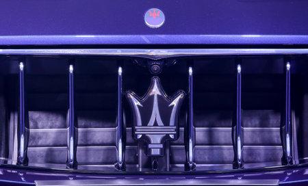 KUALA LUMPUR, MALAYSIA - NOVEMBER 24, 2017 : Logo of Maserati. Editorial
