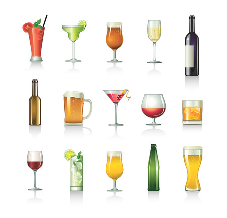 cocktails Stock Vector - 8384507