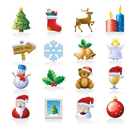 christmass: Christmas icon set